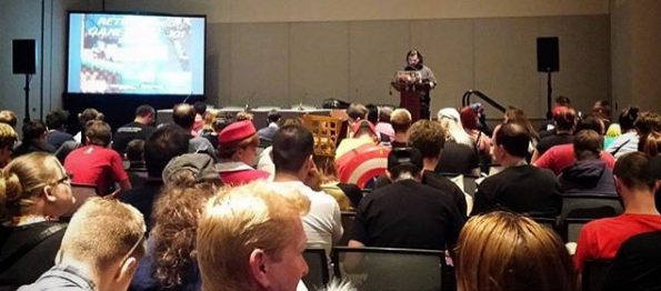Speaking at Phoenix Comicon about Video Game Music.